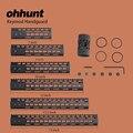 ohhunt Hunting Tactical AR-15 Rail NSR 7 9 10 12 13.5 15 Rail KeyMod Handguard Picatinny Rail with Steel Barrel Nut