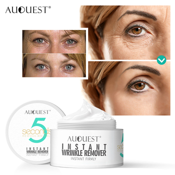 Hot Selling AuQuest Peptide Wrinkle Cream 5 Seconds Wrinkle Remove Skin Firming Ageless Tighten Moisturizer Face Cream Skin Care 1