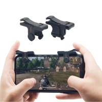 1pair PUBG Mobile Gaming Trigger Fire Button Handle L1R1 Aim Key Shooter Controller For IOS Android Smart Phones 4.0 Version