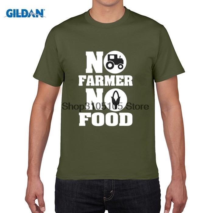 GILDAN funny men t shirt make a NO FARMS NO FOOD - farmer homestead crops - Stretch make black Comfortable for men t-shirt