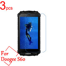 3pcs Ultra Clear/Matte/Nano Anti-Explosion LCD Screen Protector Film Cover for Doogee S60 S30 IP68 Protective Film + Cloth(China)
