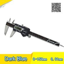 Wholesale prices Digital Caliper IP54 150mm blue High quality Digital display calipers 0-150 digital vernier caliper