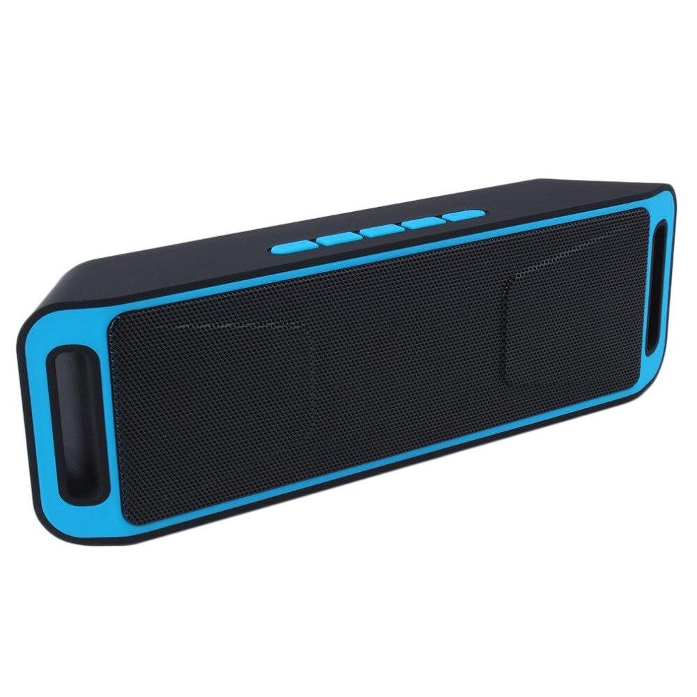 Tragbare Wireless Bluetooth Lautsprecher Usb Aux Hand-freies Mit Mic Schwere Bass W/fm Für Smartphone Tabletten Heißer Verkauf Dropshipping Unterhaltungselektronik