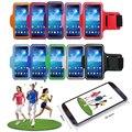 "6.3 ""pulgadas universal mobile teléfono sweatproof impermeable jogging running arm band case holder celular bolsa bolsa deporte al aire libre"