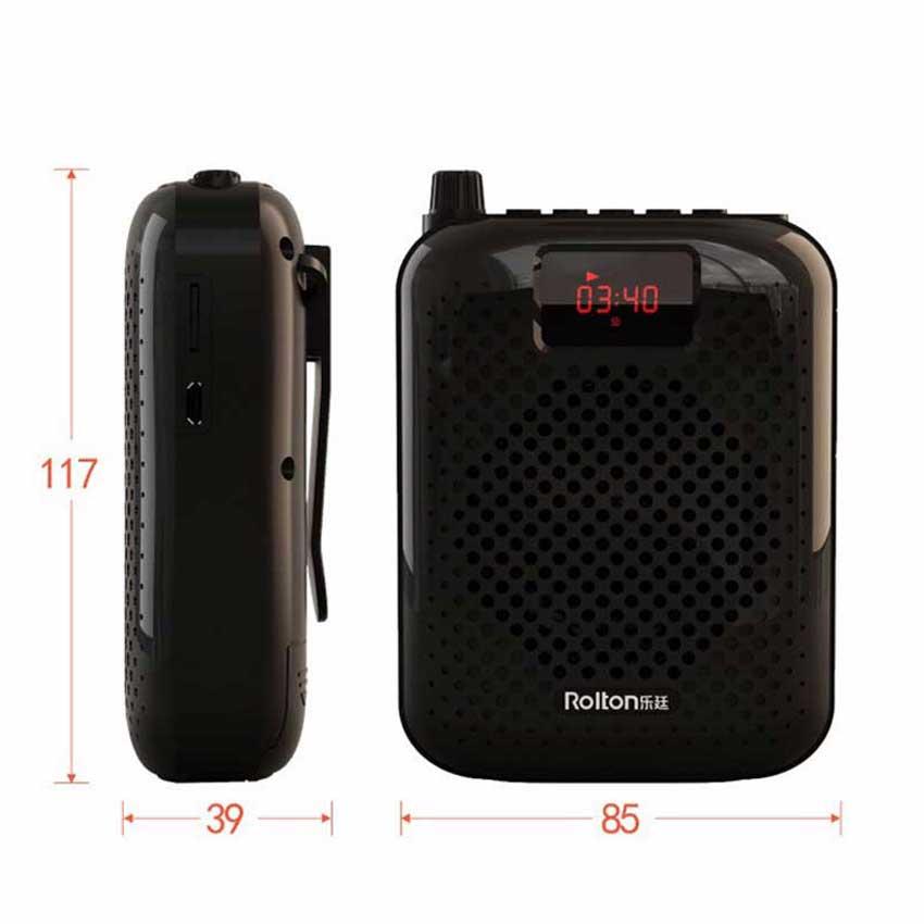 Rolton K500 Bluetooth динамикасы Микрофон - Портативті аудио және бейне - фото 5