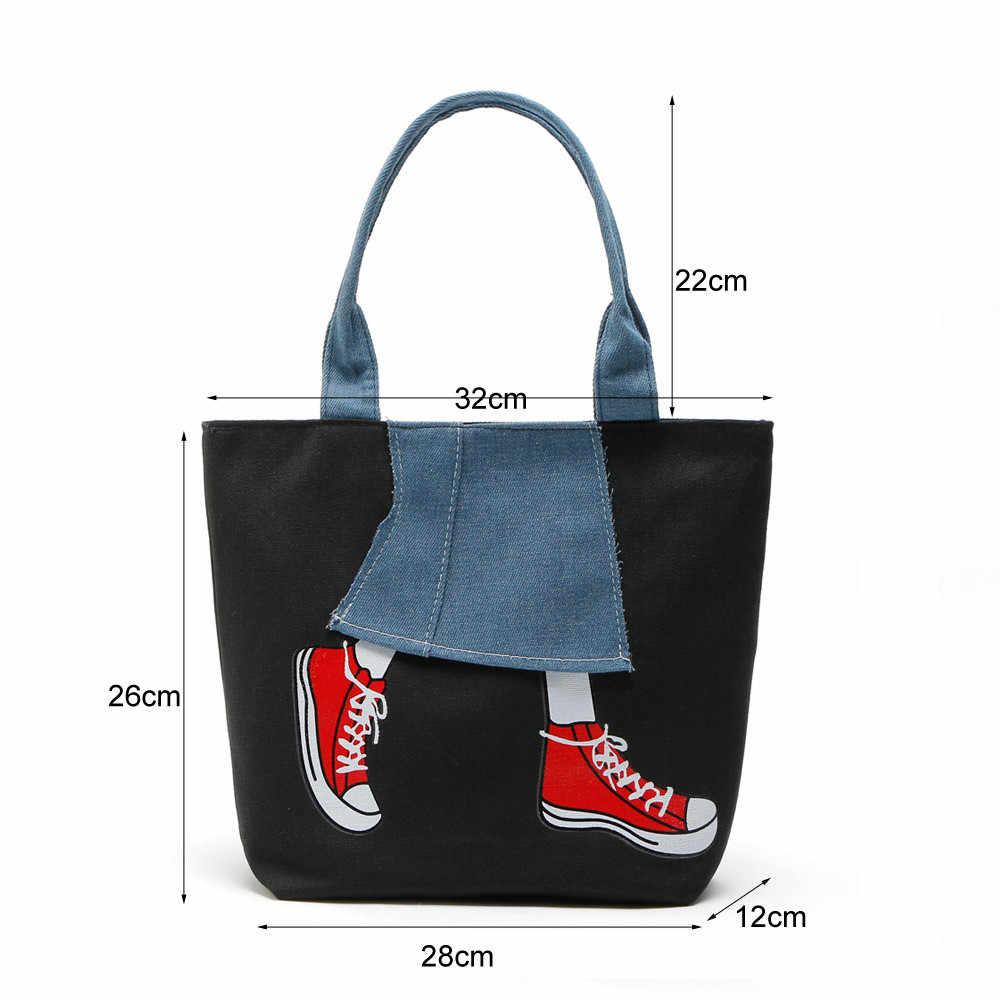 84306667b846 ... Women Handbag Canvas Women Shoulder Bags Famous Brand Designer Women  Messenger Bags Ladies Casual Tote Bags ...