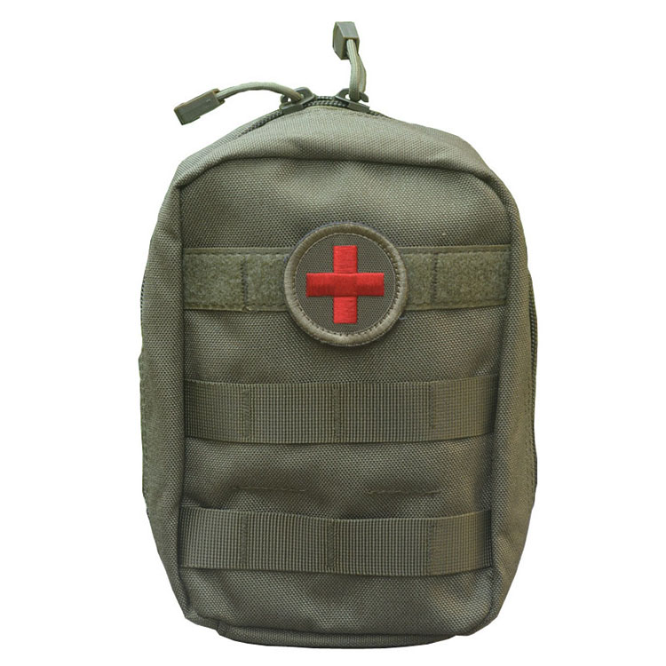 Empty Bag for Emergency Kits Tactical Medical First Aid Kit Military Waist Pack Outdoor Camping Travel Tactical Molle Pouch Mini (12)