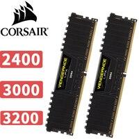 CORSAIR месть LPX 16 ГБ 16 г DDR4 PC4 PC Настольный компьютер Оперативная память ECC памяти 16 ГБ Оперативная память 2400 мГц 3000 мГц 3200 мГц