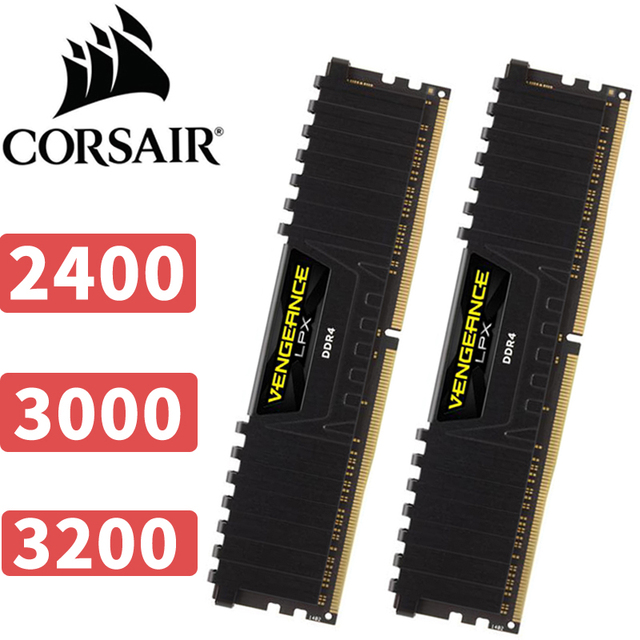 US $140 0 |Aliexpress com : Buy CORSAIR Vengeance LPX 16GB 16G DDR4 PC4 PC  computer Desktop RAM ECC memory 16GB RAM 2400mhz 3000mhz 3200mhz from