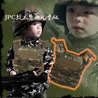 2015 Mini Airsoft Children tactical vest Molle XS Kids tactical vest camo Children vest