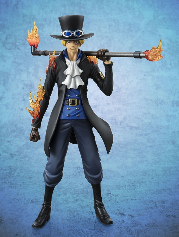21cm One Piece POP Sabo Chief of Staff Anime Collectible Action Figures PVC Collection toys for christmas gift Free shipping hot anime 24cm trafalgar law one piece action figures anime pvc brinquedos collection figures toys with retail box birthday gift