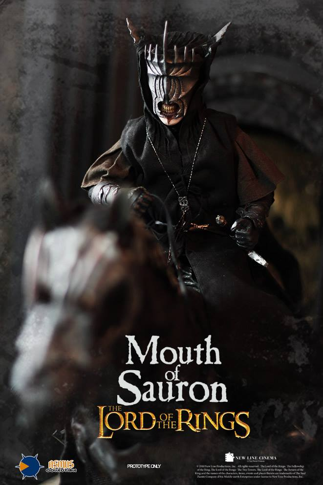 1/6 scale Super flexible figure The Lord of the Rings MOUTH OF SAURON 12 action figure doll Collectible Model plastic toy 1 6 scale full set soldier the lord of the rings elven prince legolas action figure toys model for collections