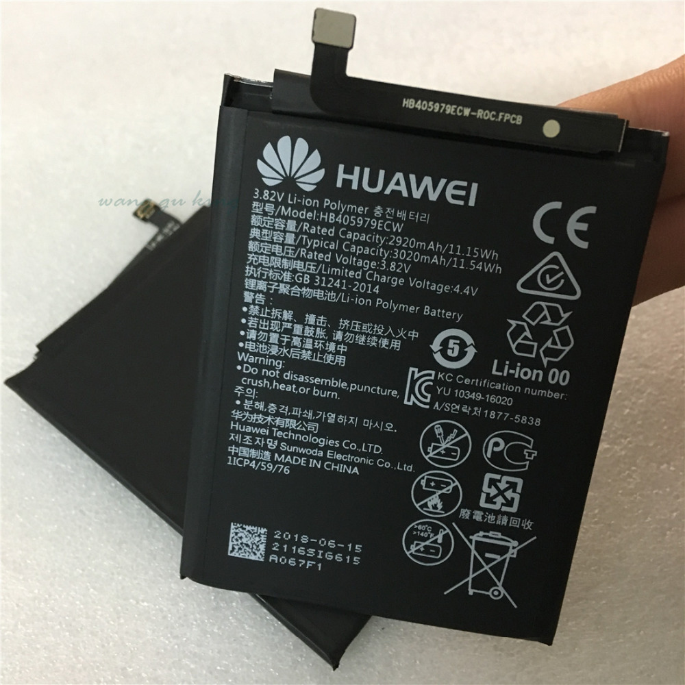 HB405979ECW 2920mAh FOR HUAWEI Nova 100% Original New Replacement Battery accumulators