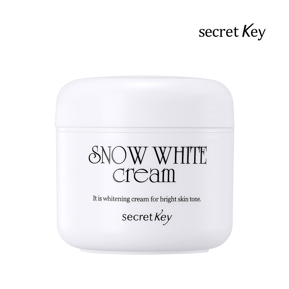 SECRET KEY Snow White Cream 50g Day Cream Face Skin Care Moisturizing Whitening Cram Brighten Skin Facial Cream Korea Cosmetic