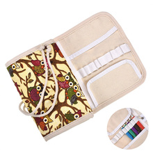 Owl Style Storage Bag Empty Pouch Crochet Hook Knitting Kit Needles Scissors Sewing Accessories Household Organizer