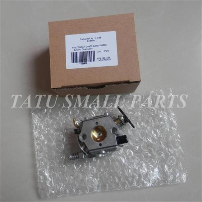 цены CARBURETOR AY FOR ZENOAH G4300 G4100 G3800 CHAIN SAW FREE SHIPPING 38CC 3800  CHAINSAW BURSH CUTTER CARB  # 848C408100