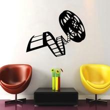 Reel Of Movie Film Vinyl Wall Sticker Cinema Film Decor For Living Room Mural Art Wall Decals Film Studio  Decor