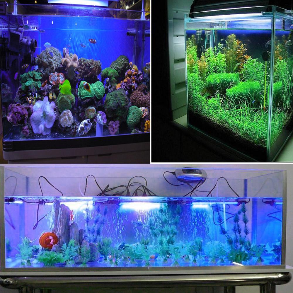 Waterproof Submersible Aquarium LED Lamp 12