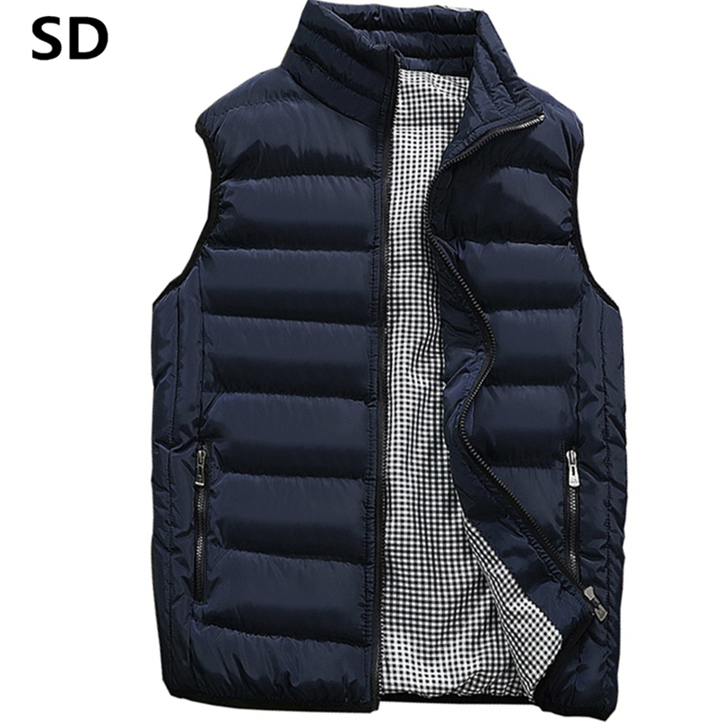 Sd Model Males Vest 2018 Spring Male Waistcoat Slim Match Sleeveless Jacket Autumn Informal Vest Man Plus Dimension S- 5Xl Dropshipping 17