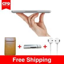 Новый оригинальный gpd карман 7 дюймов Алюминий Корпуса Сенсорный экран мини-ноутбук UMPC Окна 10 Системы Процессор x7-Z8750 8 ГБ/ 128 ГБ (серебро)