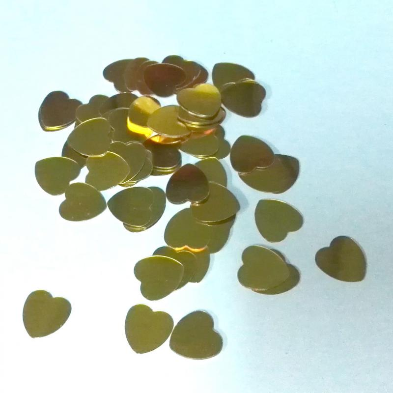 Casamento Púrpura Rojo Oro Plata Brillo Corazón Boda Confeti - Para fiestas y celebraciones - foto 2