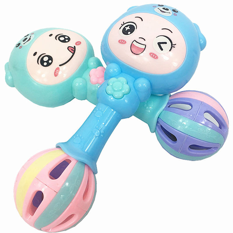 UainCube Baby Rattles & Mobiles Music Baby Toys 0~12 Months juguetes bebe Plastic Environmental Toys