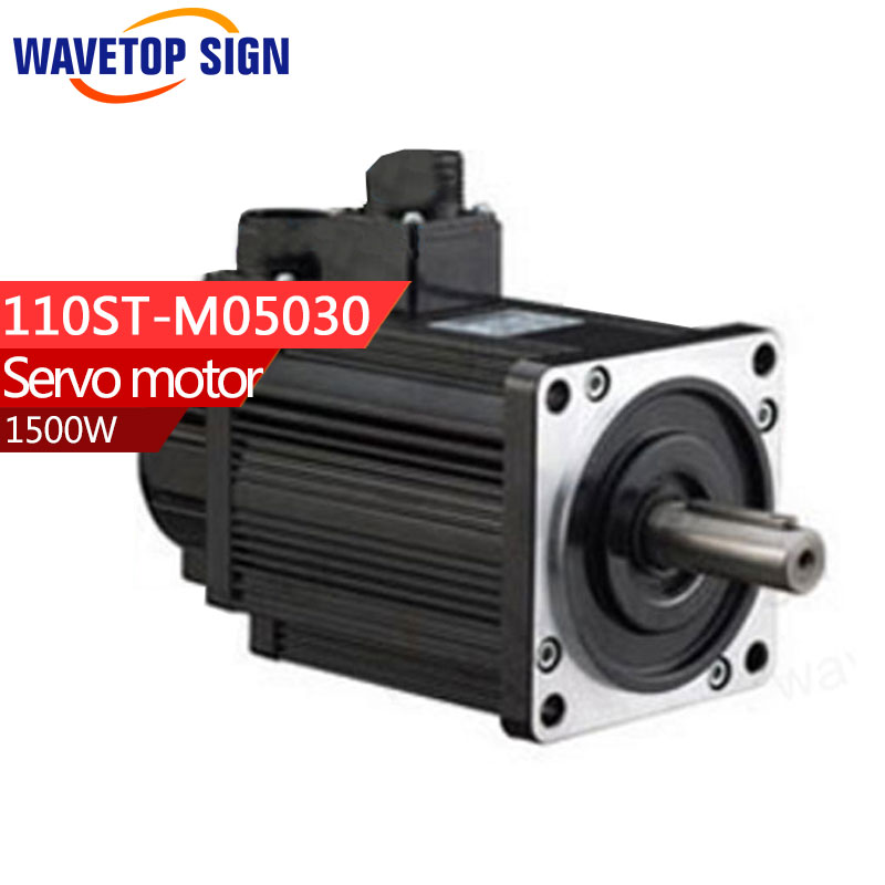 Servo motor 110ST-M05030/1500w 5N.M /3000rpm servo motor sgmph01baa21 sgmph 01baa21