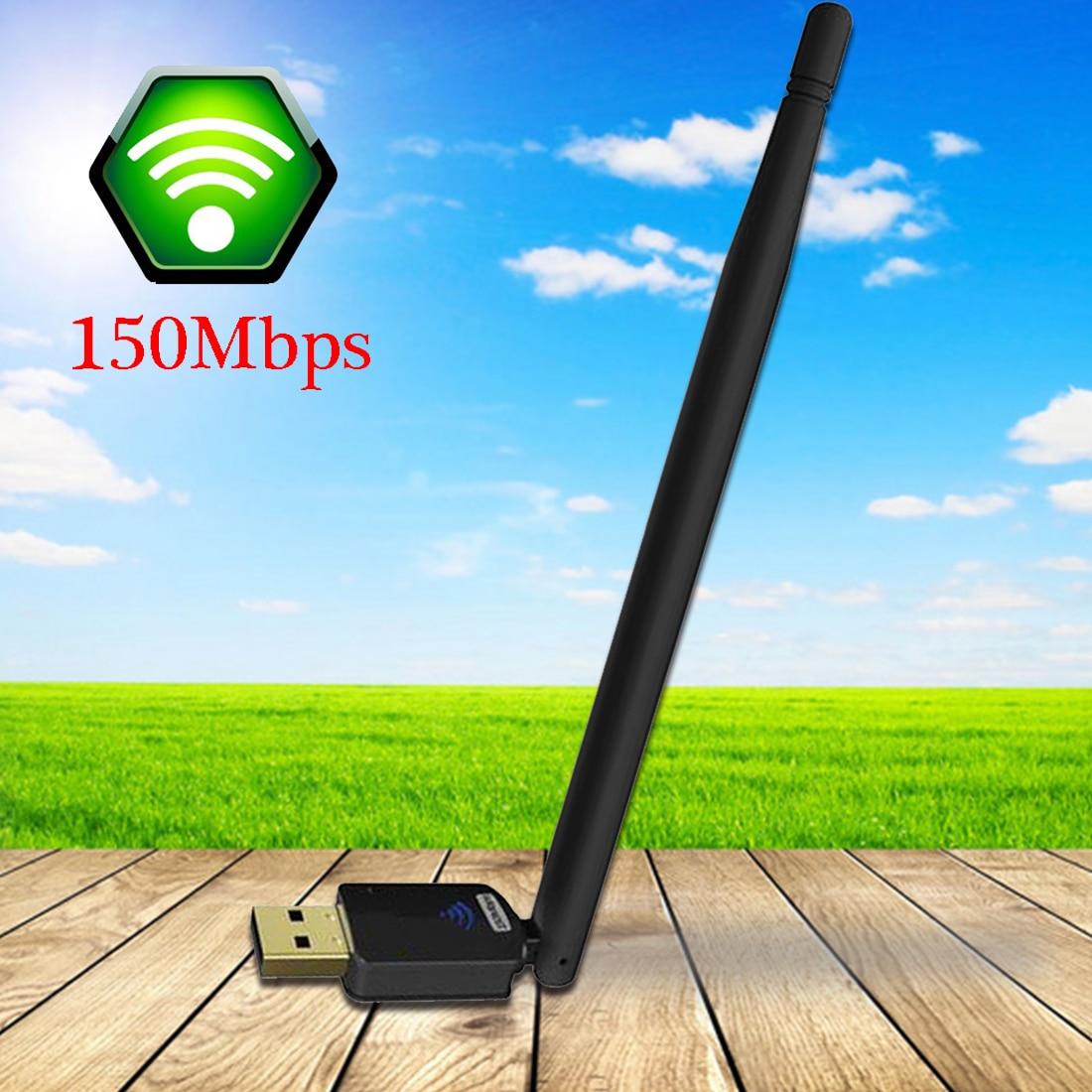 Беспроводной Wi-Fi сетевой адаптер NOYOKERE с антенной 6 дБи 150 м USB сетевая карта для ПК ноутбука Wi-Fi Re