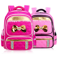 New Fashion 2016 School Bags For Girls High Quality Princess Girl Backpacks Child Primary School Cute Girls Pink Schoolbags Kids