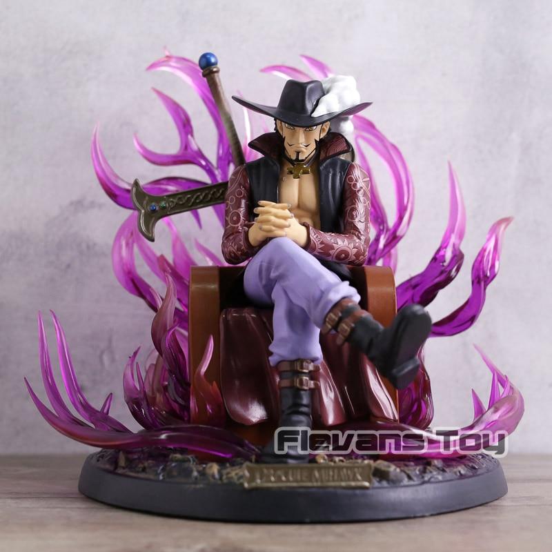 Anime One Piece POP Dracule Mihawk GK Statue Figure Figurine Collectible Model Toy