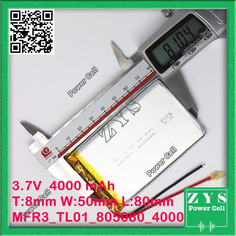 Упаковка безопасности (уровень <font><b>4</b></font>) 3.7 В 4000 мАч литий-полимерный <font><b>lipo</b></font> Перезаряжаемые Батарея ячейки для Mp3 Мощность банк PSP мобильного телефона PAD &#8230;