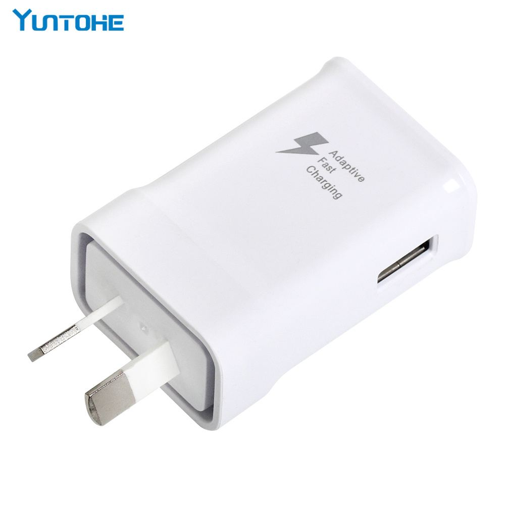 High Quality 5V 2A Adaptive Fast Charging Charger Adapter AU plug for Samsung s6 s7 S8
