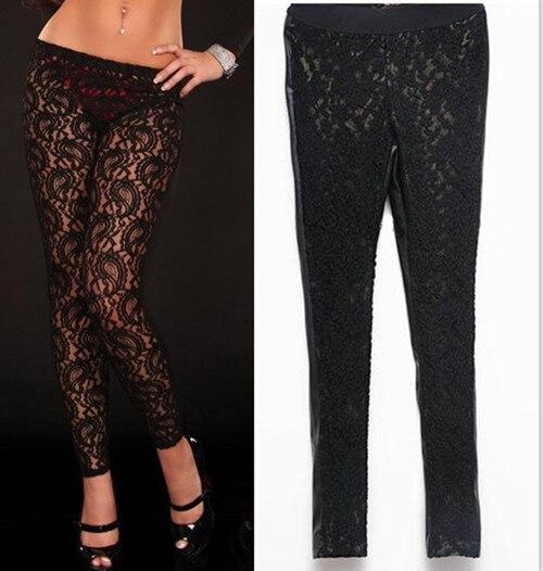 See Through Leggings Plus Size - Hardon Clothes
