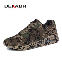 DEKABR Camouflage Style Running Shoes Unisex Outdoor Sport Shoes Breathable Women S Sneakers Men Athletic Jogging