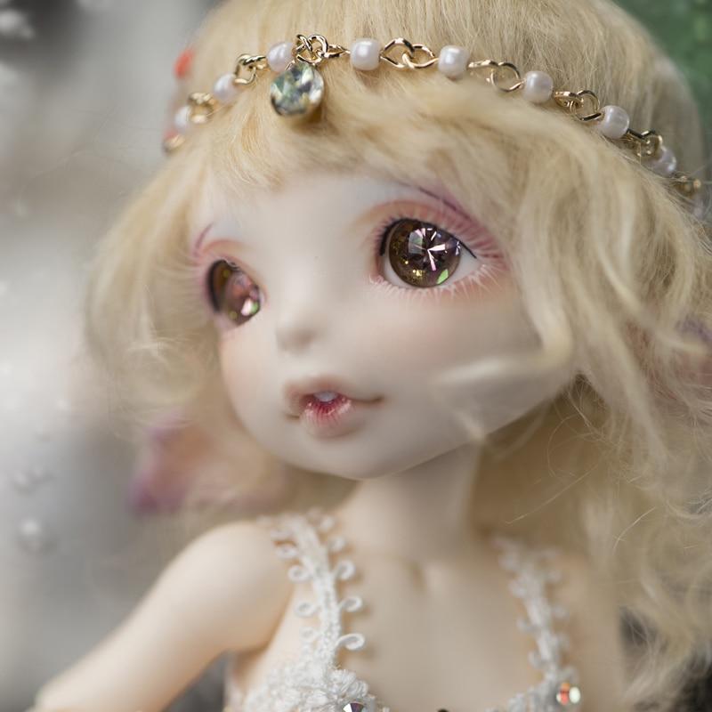 Free shipping! Free makeup&eyes! top quality 1/7 bjd doll toy fancy little sea horse mermaid 17 Mari baby Hobbie cute best gift sea horse 1 5 1 8