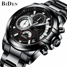 купить 2018 Relogio Masculino Mens Watches Top Brand Luxury Watch Men Fashion Sport Quartz Clock Full Steel Business Waterproof Watches по цене 1627.63 рублей
