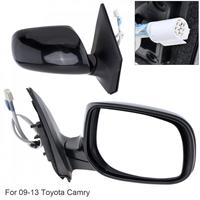 1Piece Non Folding Durable Car Right Side Mirror Waterproof Auto Right Hand LH Mirror for 09 13 Toyota Corolla