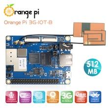 Orange Pi 3G IOT B 512MB Cortex A7 4GB EMMC دعم 3G بطاقة SIM بلوتوث Android4.4 جهاز كمبيوتر صغير