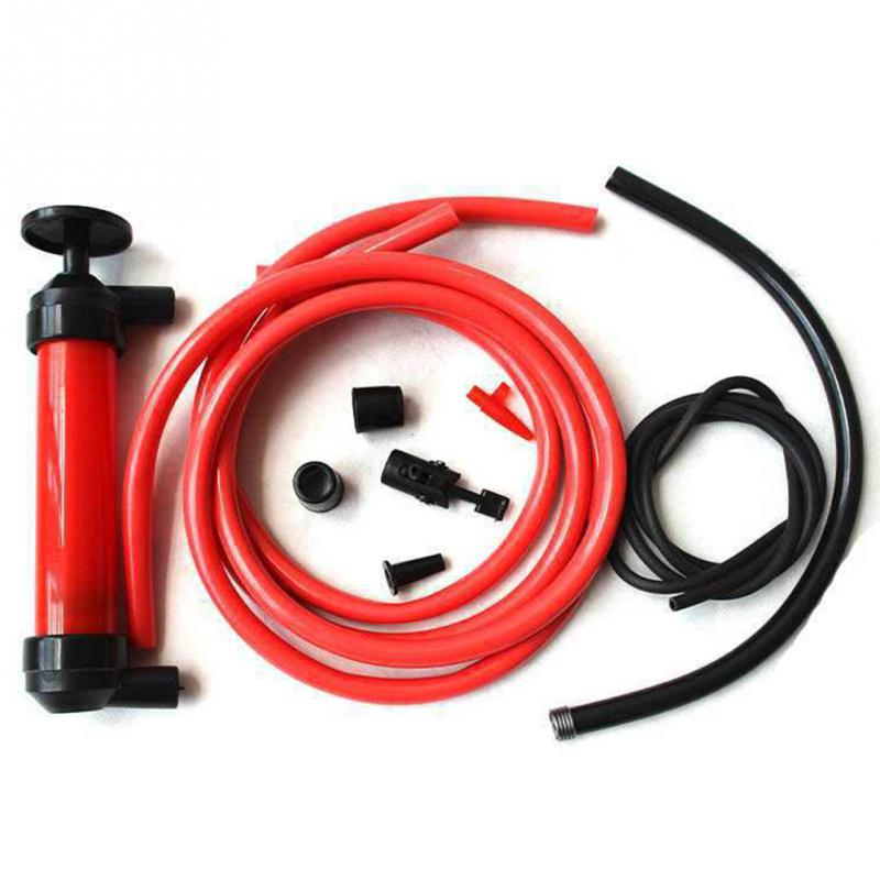 Image 3 - Oil Change Hand Syringe Oil Fuel Bump Extractor Sucking Pipe Vacuum Gun Pump-in Oil Pumps from Automobiles & Motorcycles