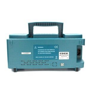 Image 5 - CDEK DSO1102P הדיגיטלי אוסצילוסקופ נייד 100 MHz 2 ערוצים 1GSa/s שיא אורך 40 K USB LCD אוסצילוסקופ להשוות DSO5102P