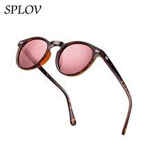 Novo polarizado óculos de sol moda masculina redonda tac lente tr90 quadro marca designer de condução óculos sol uv400