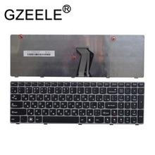 GZEELE новая клавиатура для ноутбука Lenovo ideapad G580 Z580A G585 Z585 G590 Z580 G580A N580 N581 N585 N586 P580 P585 русская клавиатура серого цвета RU