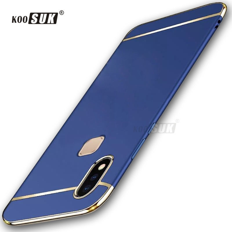 Vivo V9 Case Back Cover For Vivo V 9 Vivo Y85 Cases Coque 3 in 1 Stitching Color Mobile Phone Protect Bags Funda Koosuk Brands
