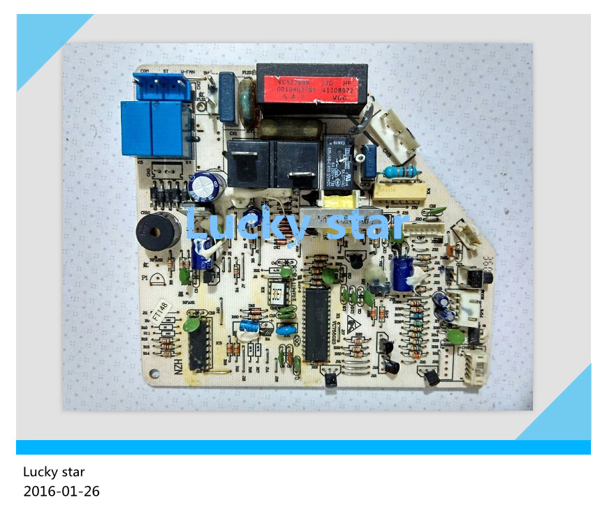 95% new for Haier Air conditioning computer board circuit board KFR-33GW/Z 0010403785A good working 95% new for haier refrigerator computer board circuit board bcd 198k 0064000619 driver board good working