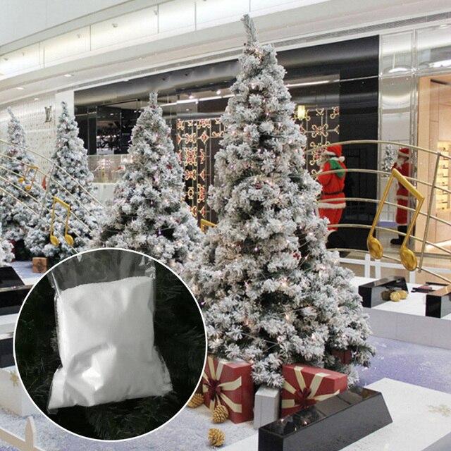 076 25 De Descuento20 Gbolsa Decoración Navideña Para El Hogar Copos De Nieve Artificiales Fake Magic Instant Snow Festival Fiesta Navidad Boda