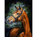 YIKEE decorative canvas oil painting by numbers drawing by numbers Horse|Paint By Number|   -