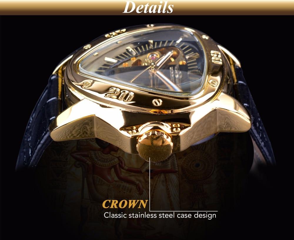 HTB1Ik80h6nD8KJjSspbq6zbEXXap Winner Steampunk Fashion Triangle Golden Skeleton Movement Mysterious Men Automatic Mechanical Wrist Watches Top Brand Luxury