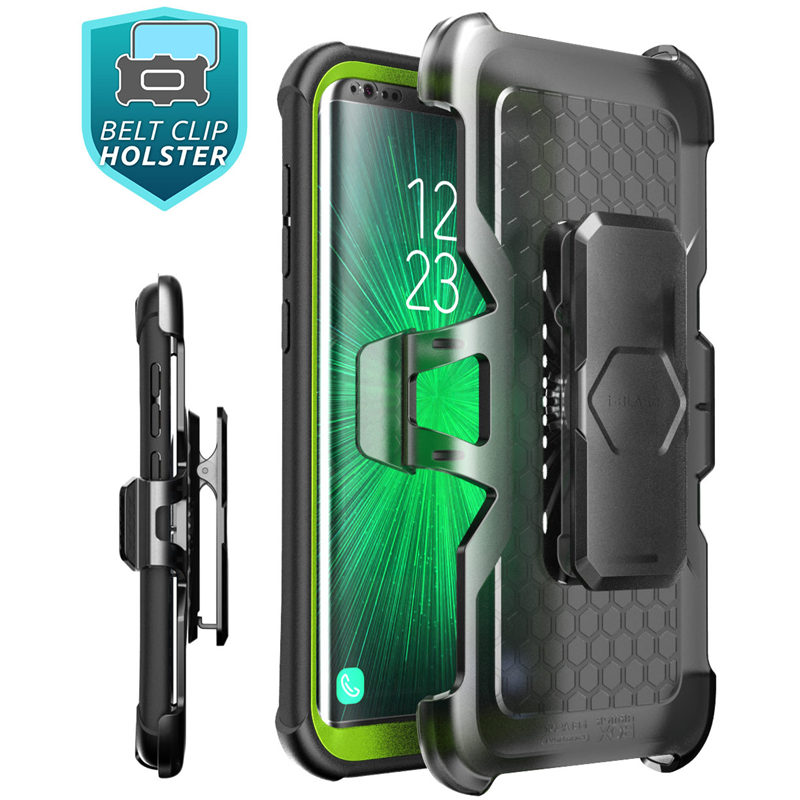 """Image 3 - Original i Blason For Samsung Galaxy S8 Case 5.8"""" Ares Series Full Body Rugged Clear Bumper Case with Built in Screen Protector-in Fitted Cases from Cellphones & Telecommunications"""