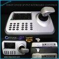 5 pulgadas LCD ONVIF IP PTZ IP de Alta Velocidad de control de Teclado Pantalla LCD de ALTA DEFINICIÓN de Red PTZ Cámara domo 3D Joystick Teclado controlador
