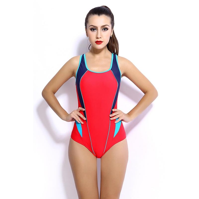 New Swimwear Sport High Quality Sports Swimsuits Women Push Up Padded Swimsuit 2016 Training Bathingsuit Bodysuit QY6633 Z35 ...